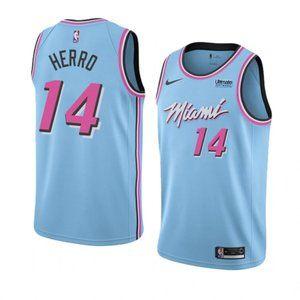 Miami Heat  Tyler Herro City Vice Night Jersey 14#